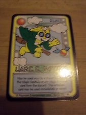 RARE ORIGINAL KILLER BUNNIES GAME PROMO CARD OMEGA SERIES 8 HARE E POTTER
