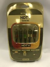Belkin HDTV 6 Ft Component Cable Kit - Audio & Video - Sealed In Packaging
