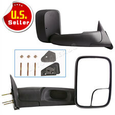 for 1994-2001 Dodge RAM 1500 1994-2002 Ram 2500 3500 Manual Tow Side Mirrors