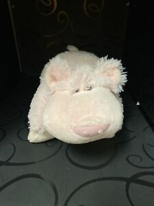 """PILLOW PETS Pee Wee Pink Wiggly Pig 12"""" Plush Toy"""