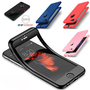 360 Full Body Phone Case For Samsung Huawei P30 Soft Silicone Shockproof Cover