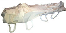Burial Shroud Adult Size 100% Cotton Natural--Deluxe