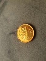 Canada 1956 Hanging 6 Rare Gem BU Penny.