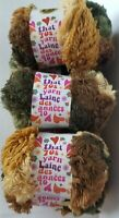 Lion Brand That 70s YARN SHAGADELIC  Super Bulky (7) Shaggy Chic NEW