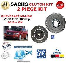 FOR CHEVROLET MALIBU V300 2.0D 160bhp 6 SPEED 2012-> SACHS 2 PIECE CLUTCH KIT