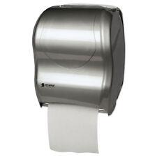 San Jamar Tear-N-Dry Touchless Roll Towel Dispenser 16 3/4 x 10 x 12 1/2 Silver