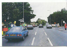 Sussex Postcard - Demonstrators - Stand at Roadside A27 - Worthing - 1988  A8409