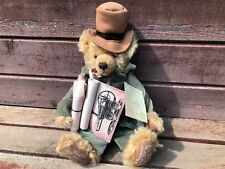 Rare Limited Edition PENYDARRAN HERMANN MOHAIR BEAR German w Tag