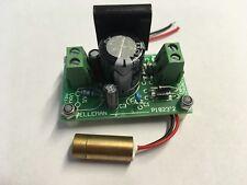 635 Presque comme neuf 9 mm 3 V < 1 mW Red Dot Laser Module et 3 V AC ou DC input Power Supply