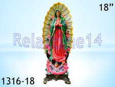 Statue Virgin Mary Virgen Maria De Guadalupe 1316-18