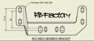 R32 & S Chassis RB engine & RB25 gearbox conversion brkt - Passenger Side High