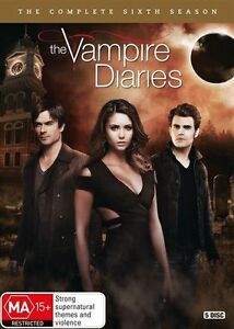 THE VAMPIRE DIARIES: The Complete Sixth Season (5 Disc DVD) - R4 NEW SEALED