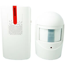 100m Wireless Outdoor Visitor Entry Chime/Alarm/Alert -PIR Motion Beam Shop Door