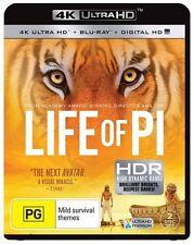 Life Of Pi : 4K Blu-Ray + UHD + UV : NEW 4K Ultra HD