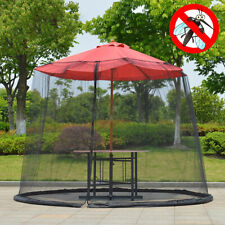9ft Patio Outdoor Garden Umbrella Table Screen Cover Insect Neting Mosquito Net