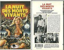 RARE / K7 VIDEO - LA NUIT DES MORTS VIVANTS de GEORGE A. ROMERO / HORREUR