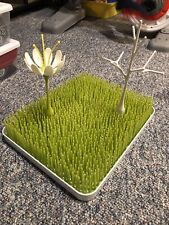 Boon Lawn Countertop Drying Rack - Green (with accessories)