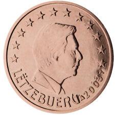 1,2,5 centimes cent cts euro Luxembourg 2008, neuves du rouleau, UNC