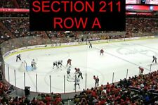 FRONT ROW ACELA CLUB LEVEL 2 TICKETS MONTREAL CANADIENS WASHINGTON CAPITALS 1/19