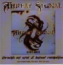 (716Y) Threat Signal, Through My Eyes - DJ CD