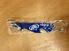 Miller Lite Beer Punch Top Can & Bottle Opener Key Ring - New & Free Shipping