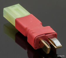 No Wires Connector: Mini-Tamiya Female to Male T-Plug (Deans Style) Adapter