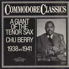 CHU BERRY A giant of the tenor sax German LP LONDON 6.24293