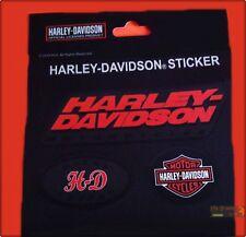 KIT ADESIVI HARLEY DAVIDSON UFFICIALE MOTO ADESIVO CUSTOM LOGO STICKER ORIGINALE