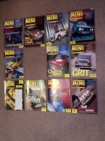 MINI WORLD MAGAZINE 11 ISSUES FROM 1995 (free sticker attached to Sept issue)