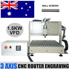 3 Axis 1.5KW CNC 6040 Router Engraver Desktop Engraving DIY 3D Cutter Mill Mach3