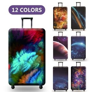 Travel Luggage Cover Starry Sky Elastic Anti Scratch Suitcase Protect Dust Case