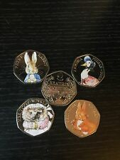 Full Set Beatrix Potter Squirrel Nutkin Duck Peter Rabbit  COLOUR(homemade