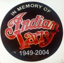 INDIAN LARRY HARLEY DAVIDSON  MOTORCYCLE CHOPPER BOBBER STICKER RAT ROD HOT ROD