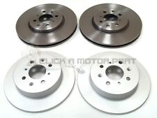 ROVER MG ZR 160 + MG ZS 180 2001-2005 FRONT AND REAR BRAKE DISCS SET NEW