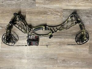 "Hoyt Axius 28"" to 30"" Right-Hand 55# to 65# Compound Hunting Bow IBO 342 fps"