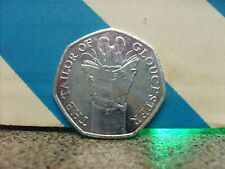 2018 THE TAILOR OF GLOUCESTER FIFTY PENCE BEATRIX POTTER 50P COIN UNC