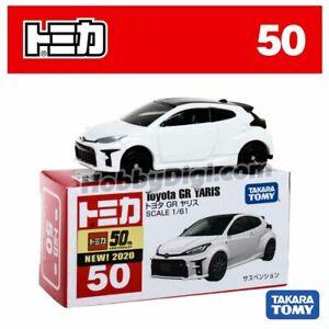 Tomica No 50 - Toyota GR Yaris White