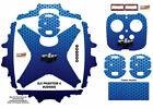 Blue Honeycomb DJI Phantom 4 P4 Skin Wrap Decal Sticker Vinyl Skinz Ultradecal