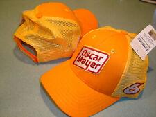 Ryan Newman 2020 OSCAR MAYER #6 CFS Adj.SPONSOR MESH Hat NEW W/tags IN STOCK