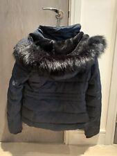 ZARA NAVY Hooded Down Puffer Jacket Coat. Size XL