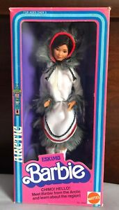 1982 Eskimo (1st Ed.) Dolls of the World Barbie by Mattel EXCELLENT BOX (OH)