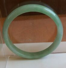 China Green Jadeite jade Half Round side Bracelet 玉镯