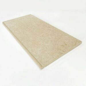"""Porcelain Coping Stone - 300x600mm - 12"""" - Beige - not concrete coping stone"""