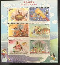 Gambia- Disney Mickey's Journey to the West Sheet of 6