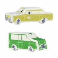 Kate Spade Hopscotch Drive About Town Vehicle SALT & PEPPER SHAKERS New in Box