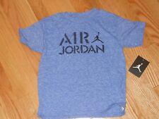 NWT - Nike Jordan Jumpman short sleeved blue & black shirt - 4 boys