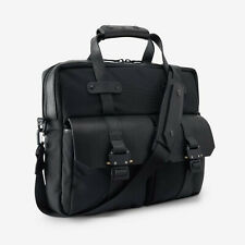 ALLEN EDMONDS OUTPOST BLACK TWILL FIELD BAG BY KORCHMAR NEW WITH TAGS