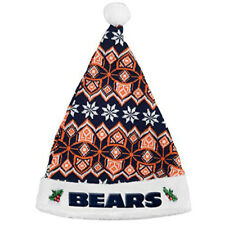 Forever Collectibles NFL Chicago Bears Knit Santa Hat