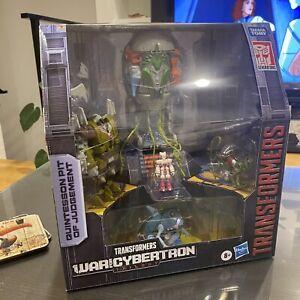 Exclusive Transformers Quintesson Pit of Judgement Pulsecon Hasbro 2020 SDCC