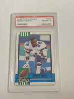 1990 EMMITT SMITH TOPPS TRADED #27T ROOKIE CARD RC PSA NEAR MINT 8 (DR)